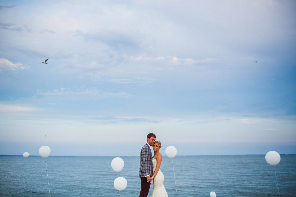 Long Island beach wedding bridal portraits